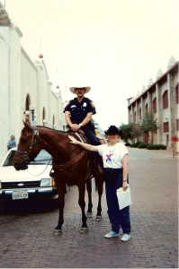 Texas Ranger in Ft.Worth
