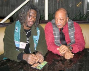 MW,Quincy Jones at Jazz Educator Conference Toronto