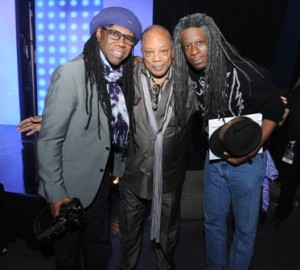 Nile Rodgers,Quincy Jones ,Michael Williams