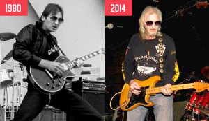 Then and Now-Johnnie Lovesin-credit Library & Archive Canada 1980 and Yorkville Village Alumni Association 2014