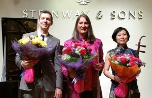 A wonderful concert...thank you to Chris, Ron and Xiaoqiu