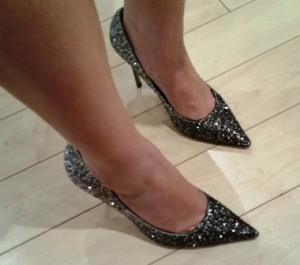 But it was Phyllis's shoes that caught my attention. Painful? Yes. But worth it? You betcha!