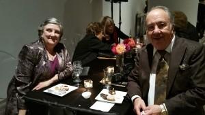 More media enjoying the dinner incl. Jody Glaser (above R)