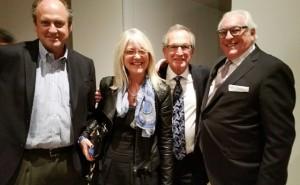 L-R: Philip Strathy, Danielle, Sam Wales & Michael Miller