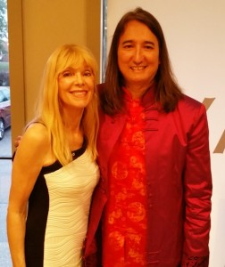 With fellow Cdn artist Liona Boyd