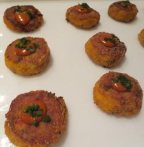 Cajun Salmon Cakes with Comeback Sauce