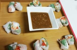 Vietnamese Rice Wraps