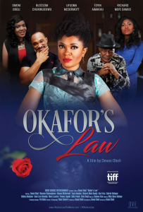 Okafor's Law red poster flat