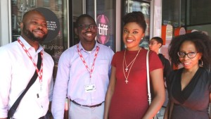 Naz Onuzo of Inkblot Prods. & Niyi Akinmolayan of The Arbitration film