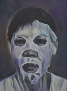 Image THE MASK by Grace Dam -oil on canvas
