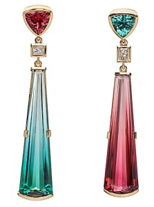 tourmaline and diamonds