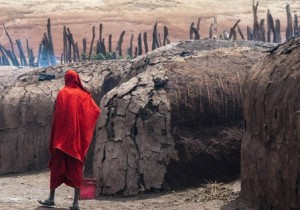 Invitation Image Masai Tribesman Tanzania