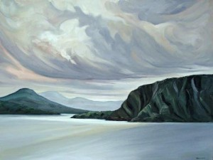 Neddies Bay Brigitte Granton 30x40 Oil on canvas $3400