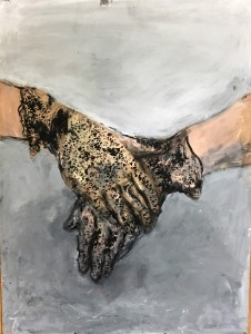 Gloved hands - cropped