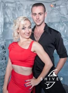 Anton with Kristina Kulikova