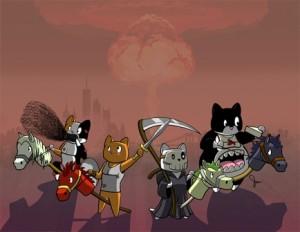 FourHousecatsApocalypse
