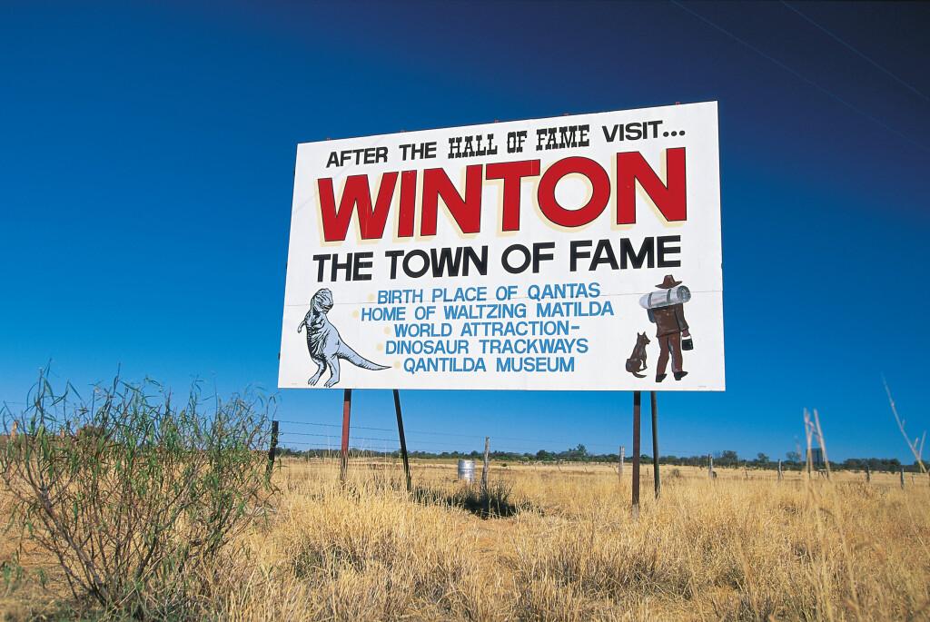 Winton Sign - Photographer Peter Lik