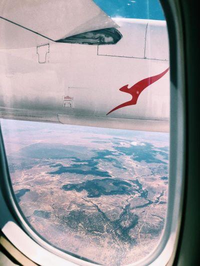 via air